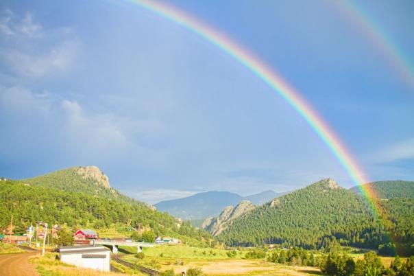 Rainbow Over Rollinsville