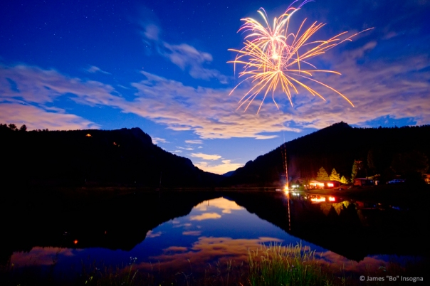 Rocky Mountains Private Fireworks Show