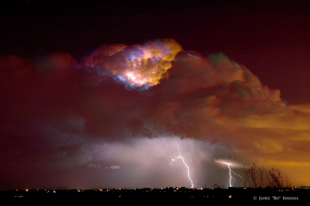 Thunderstorm Boulder County Colorado