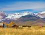 Colorful Crested Butte Colorado Autumn LandscapePanorama