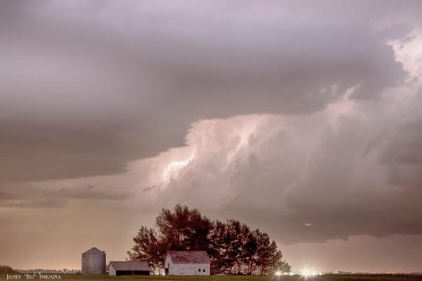 Colorado Farm Country Storm - James Bo Insogna