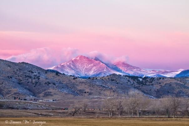 December 16th Twin Peak Sunrise View