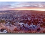 Boulder Colorado Dawn City Lights Panorama