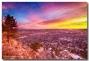 Boulder Colorado Colorful Sunrise CityView
