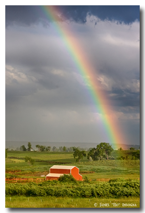 Boulder County Country Rainbow
