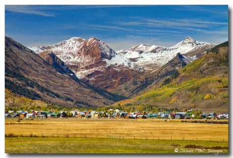 Creted Butte Colorado Autumn View