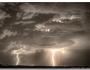 Double Lightning Strikes in SepiaHDR