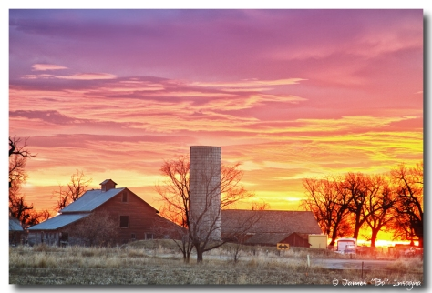 Early Country Morning Sunrise