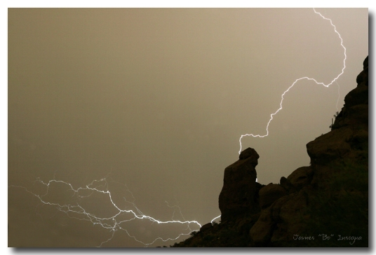 The Praying Monk Lightning Strike - James Bo Insogna