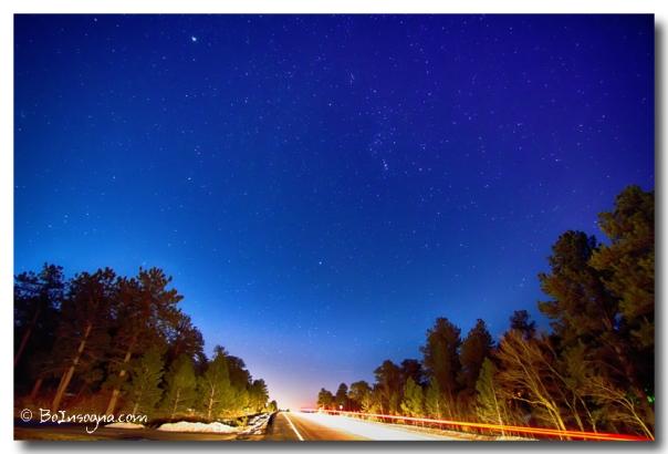 Starry Night Into The Light