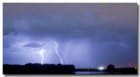 Thunder Rolls And The Lightnin Strikes