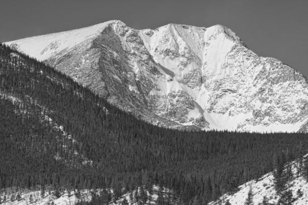 Colorado Ypsilon Mountain Rocky Mountain National Park Art Print