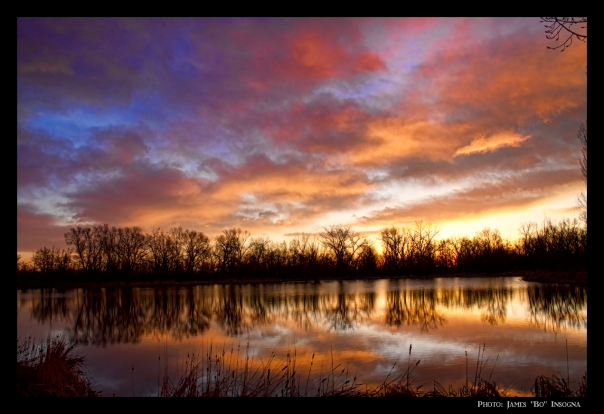 Crane Hollow Sunrise Reflections 2