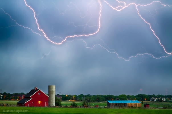 Farm Storm HDR - James Bo Insogna