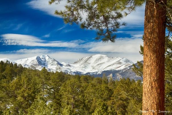Colorado Rocky Mountain View Art Print