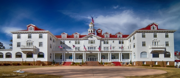 The Stanley Hotel Panorama Art print