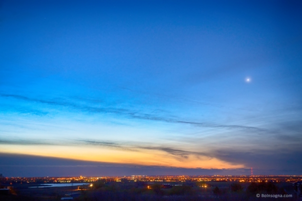 Longmont City Lights and a Venus Morning Sky | Striking ...