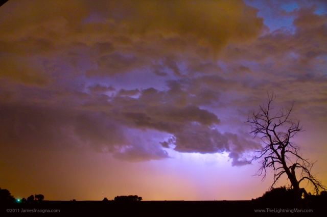 Colorado Cloud to Cloud Lightning Thunderstorm 27
