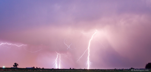 Thunderstorm on the Boulder County Plains Panorama