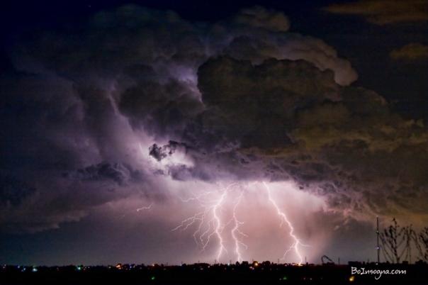 HWY 52 - HWY 287 Lightning Storm Image 29