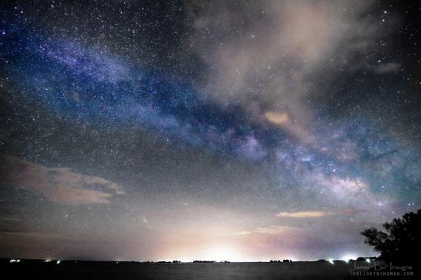 Rural Evening Sky