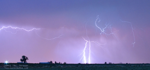 Thunderstorm on the Colorado Plains Panorama