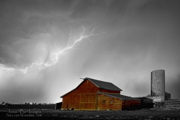 Watching The Storm From The Farm BWSC
