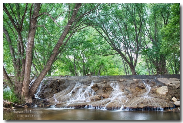 Cascading Waterfall Fine Art print
