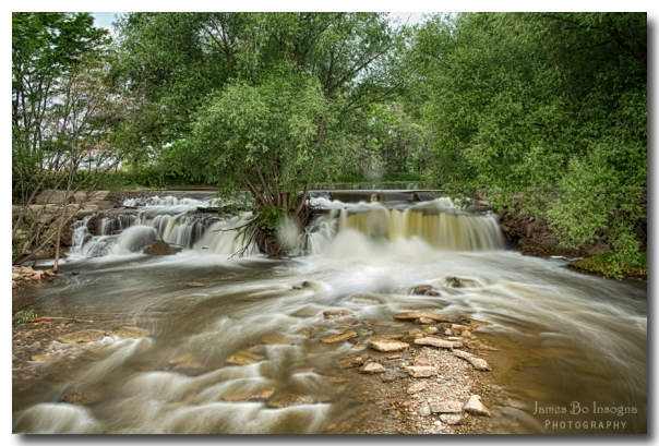 St Vrain Waterfall