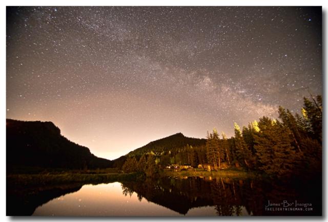 Rural Colorado Rocky Mountain Milky Way View Art