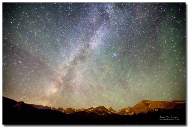 Indian Peaks Milky Way