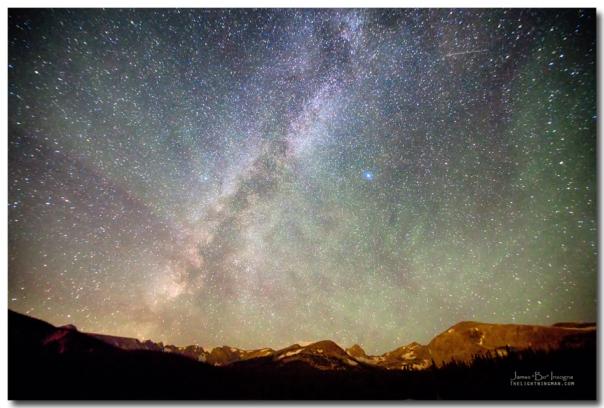 Indian Peaks Milky Way