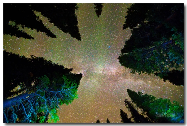 Sleeping Under the  Milky Way Stars Art