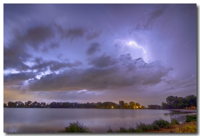Electrical Arcing Cloud Lightning Photography Print