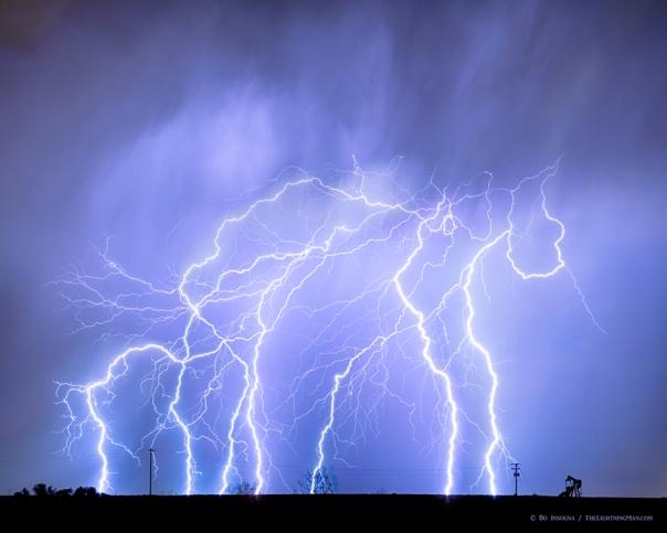 Lightning Electrical Sky