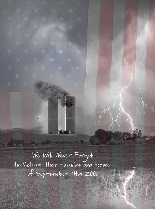 911 We Will Never Forget  the Victims, their Families and Heroes