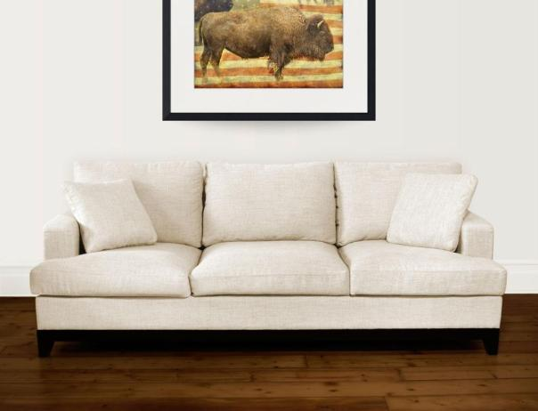 American Buffalo Art Print