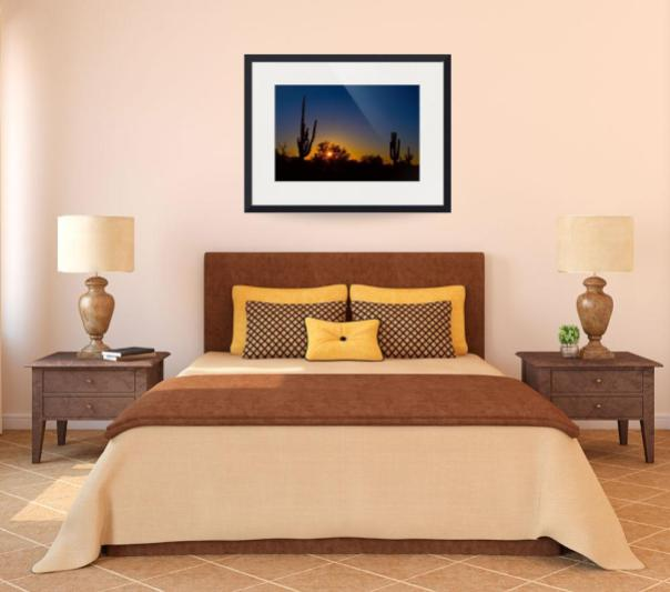 Just Another Sonoran Desert Sunrise Art Print