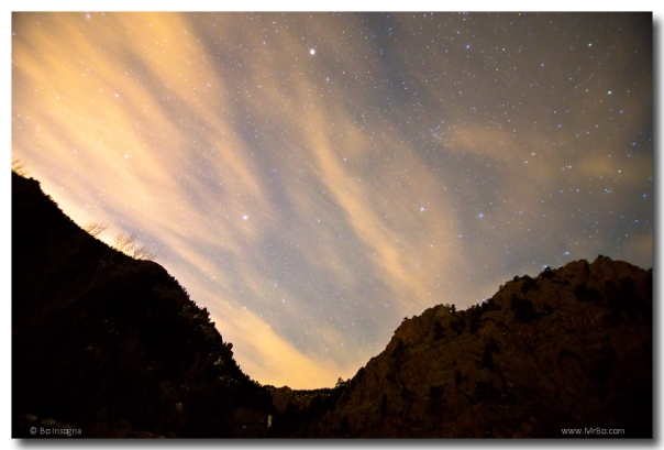 A Night Up The Canyon Art Prints
