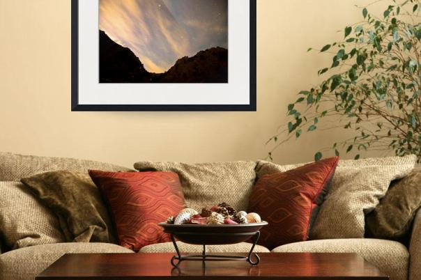 A Night Up The Canyon Art Print