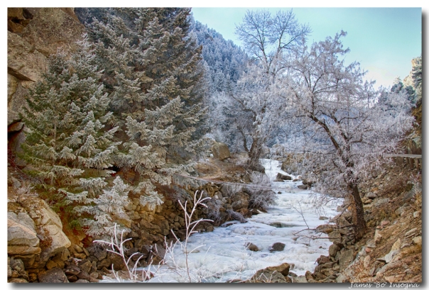 Boulder Creek Winter Wonderland