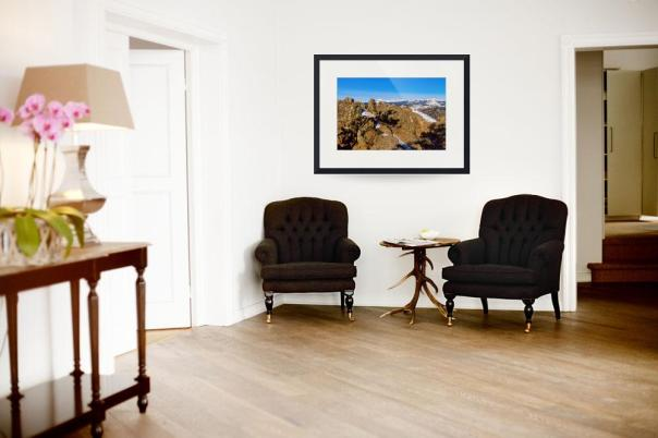 Colorado Rocky Mountain Scenic View Art Prints