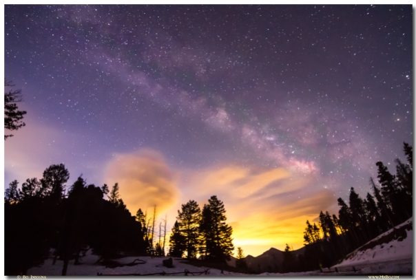 Early Morning Colorful Colorado Milky Way View  Art Prints