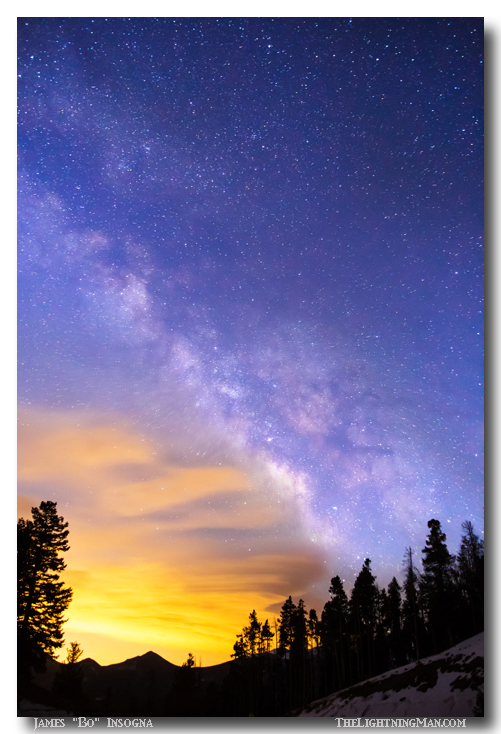 Milky Way Night to Day Art Prints