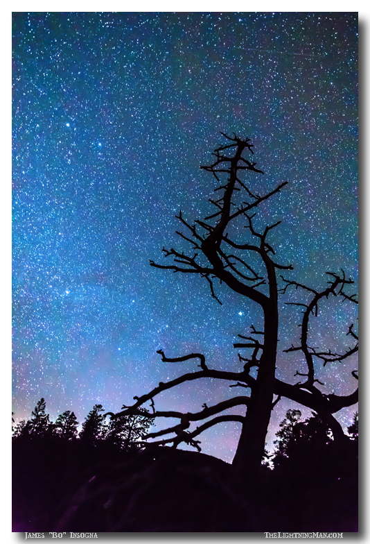 Astrophotography Night Art Print