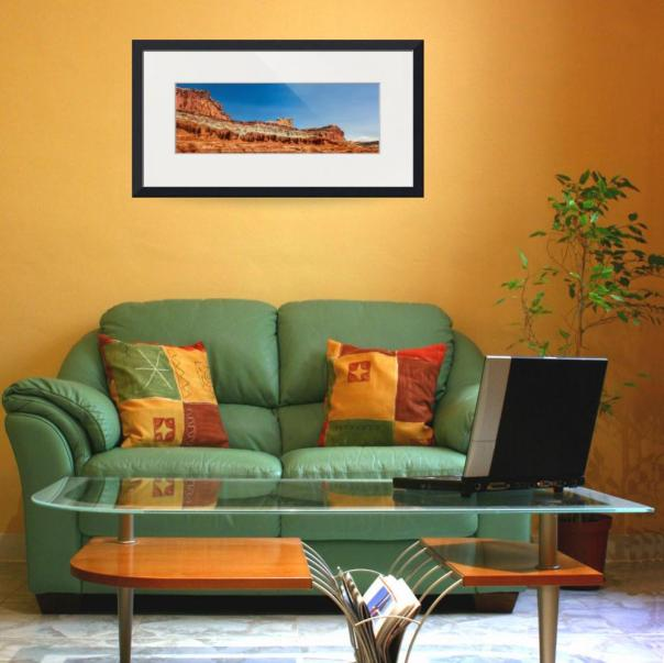 Arches-Castle-Panorama_art Print