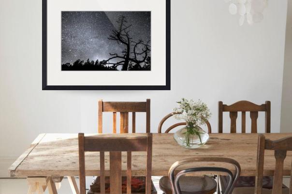 Celestial Stellar Dark Universe Art Print