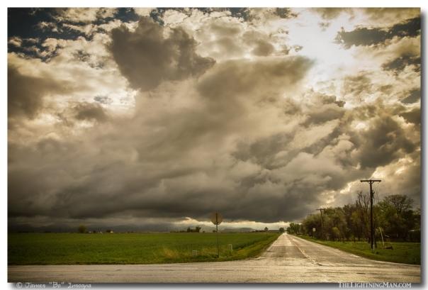 Corner Of A Storm Art Print