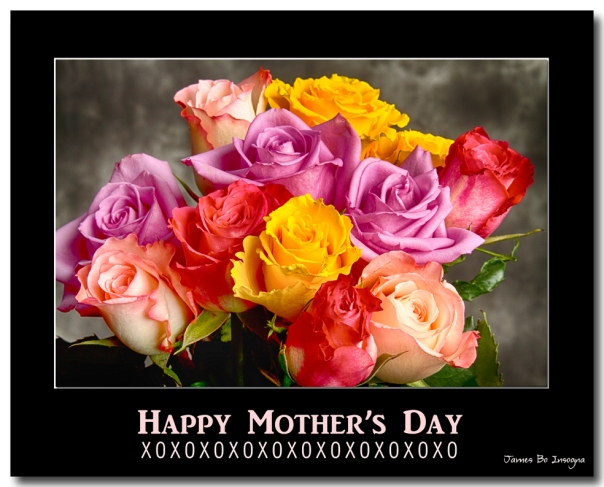 Happy Mother's Day, XOXOXOXOXOXO  - A beautiful bouquet of colorful roses  with hugs, kisses and love.  Fine art holiday photography poster prints, decorative canvas prints, acrylic prints, metal prints, corporate artwork, greeting cards and stock images by James Bo Insogna (C)   - All Rights Reserved.  Please feel Free to share our links, with Family or Friends who may also enjoy them.   If you like my Art Gallery, please spread the word and press the Pinterest, FB, Google+, Twitter or SU Buttons! Thank you!  *PLEASE NOTE, WATERMARKS WILL NOT BE ON THE PURCHASE PRINTS*