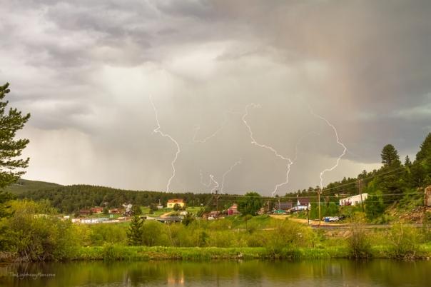Rollinsville Colorado Lightning Thunderstorm